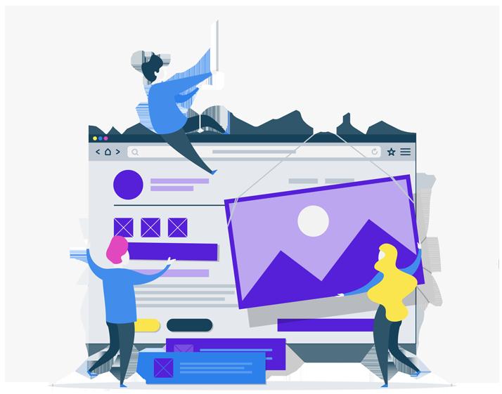Desenho Construindo Websites