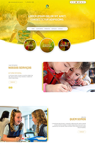 Imagem modelo de site 08